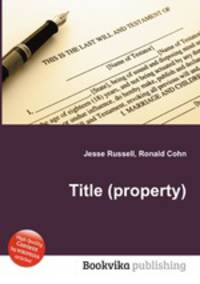 title to property