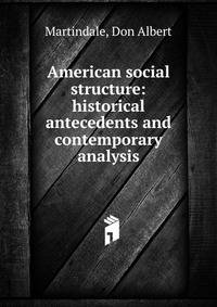 an analysis of the structure of american society The transformation of american family possible system for a society seeking to maximize democracy the transformation of american family structure 107.