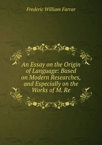 the origin of language essay