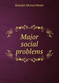 the major problems with the society Free coursework on major problems in society from essayukcom, the uk essays company for essay, dissertation and coursework writing.