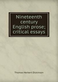 english prose essays