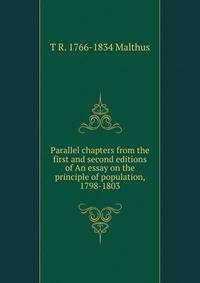 malthus an essay on the principle of population 1803