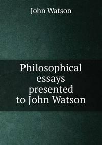 john watson essay