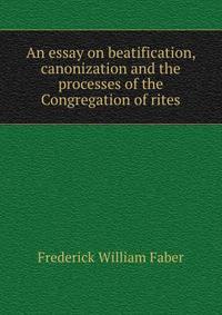 the canonization essay