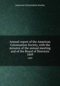 """an introduction to the american colonization society The american colonization society also in """"resources,"""" an original introduction to the terrell letters, written by a terrell family associate."""