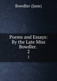 poems in essays