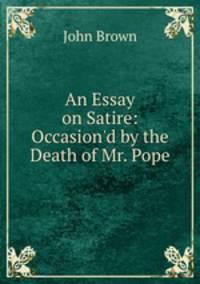 War Satire Essay