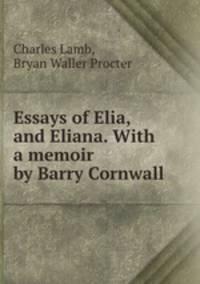 The Essays Of Elia