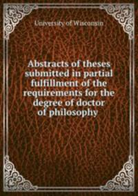 uw thesis submission Thesis submission once the thesis has been accepted by the department and faculty, and all other requirements for the degree have been met, the student must provide.